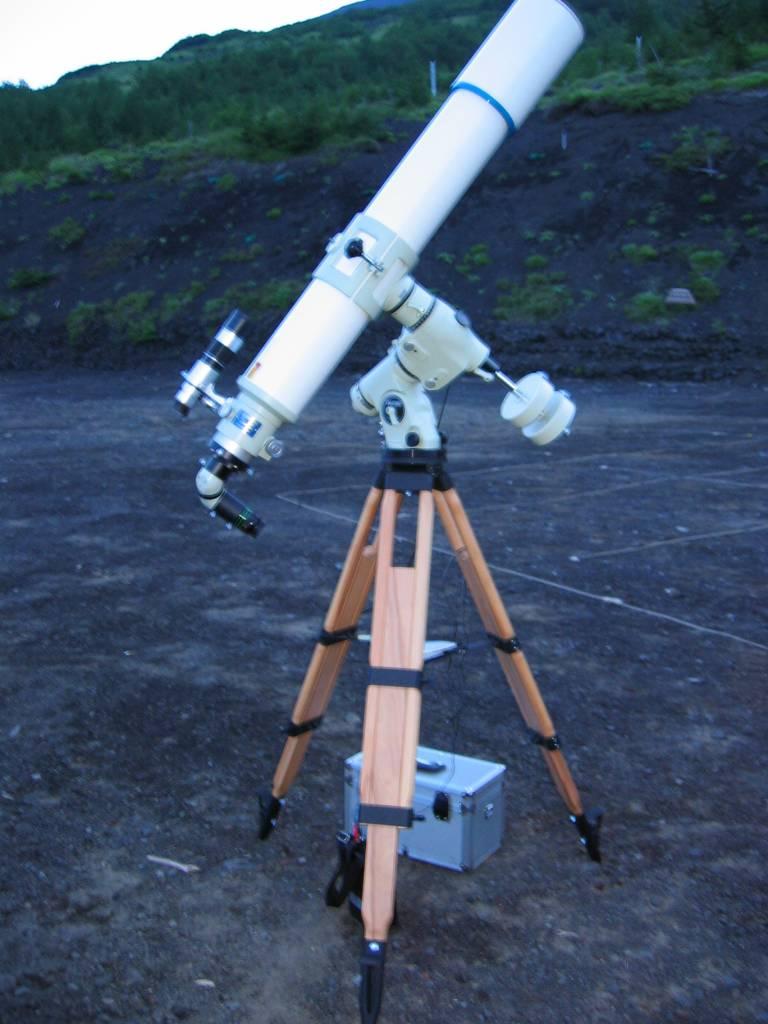 ぶんぶん先生の望遠鏡