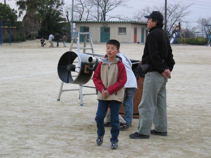 成田さんの40cmトラスドブ