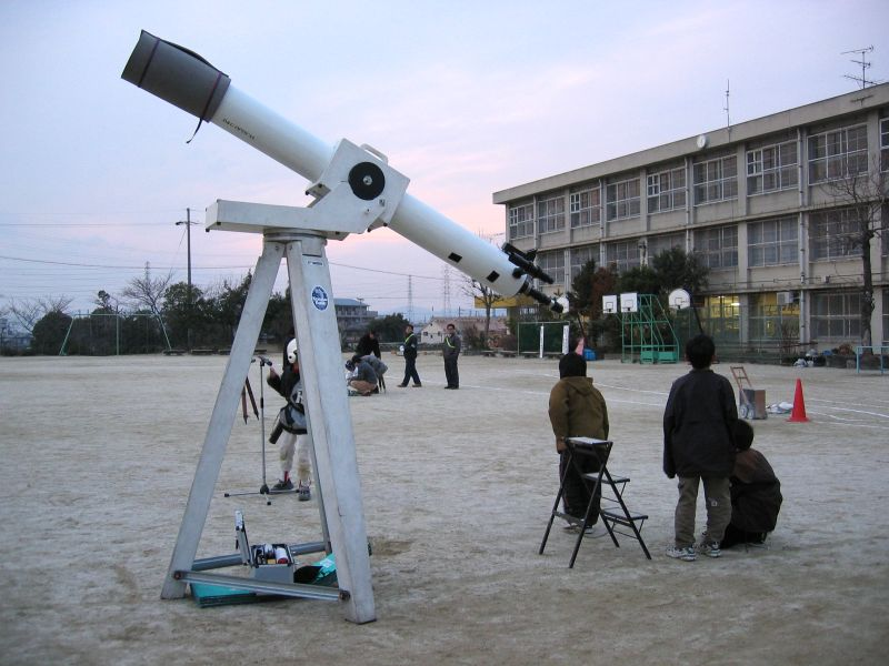 きりんさん望遠鏡