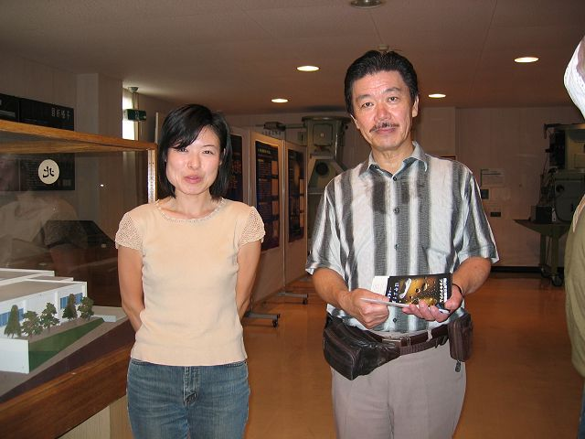 天文博物館館長さんと黒田台長
