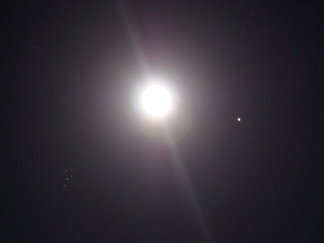 月と火星と昴