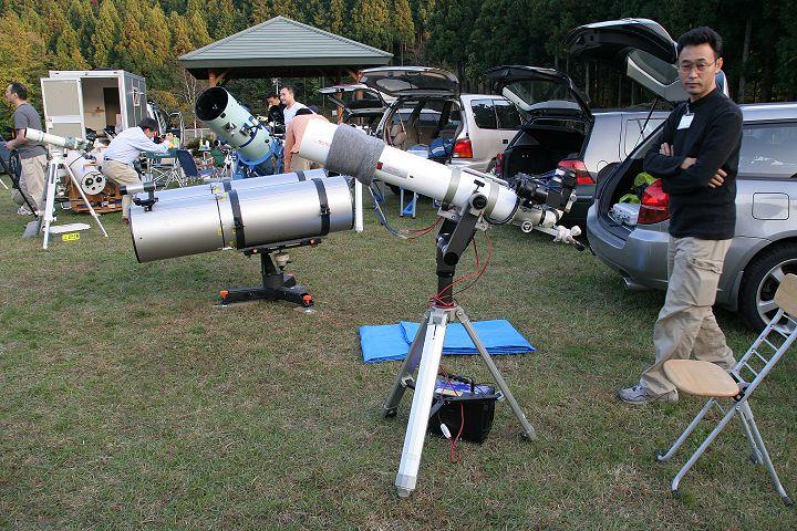 星の仙人さんの双眼望遠鏡