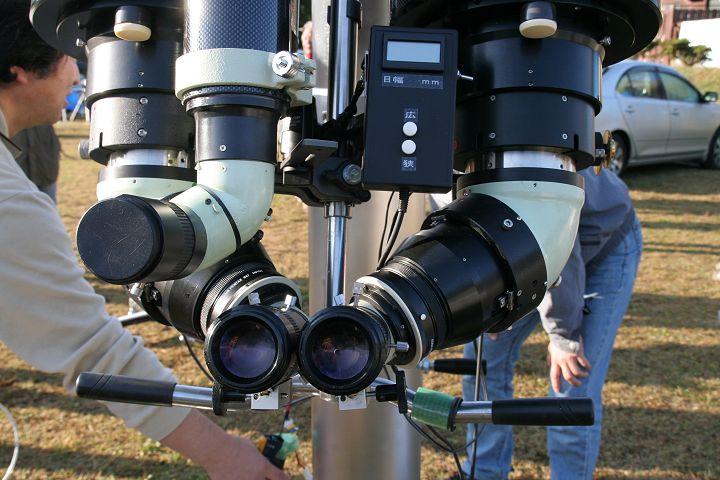 25cm(?)双眼望遠鏡3