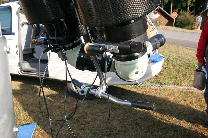 25cm(?)双眼望遠鏡4