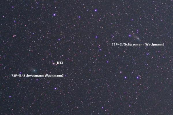 73P-B & 73P-C/Schwasmann-Wachmann3