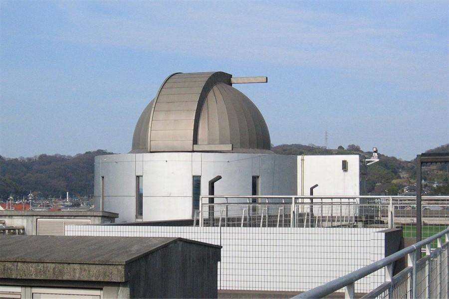 倉敷科学センター屋上のドーム