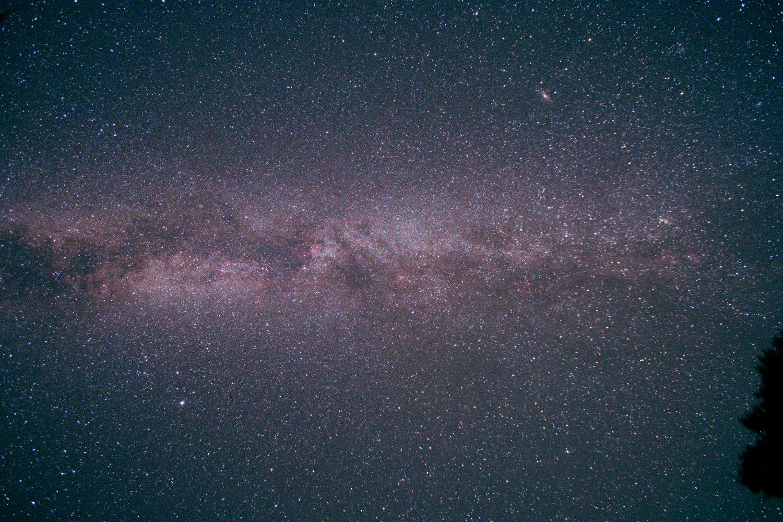 夏から秋の銀河