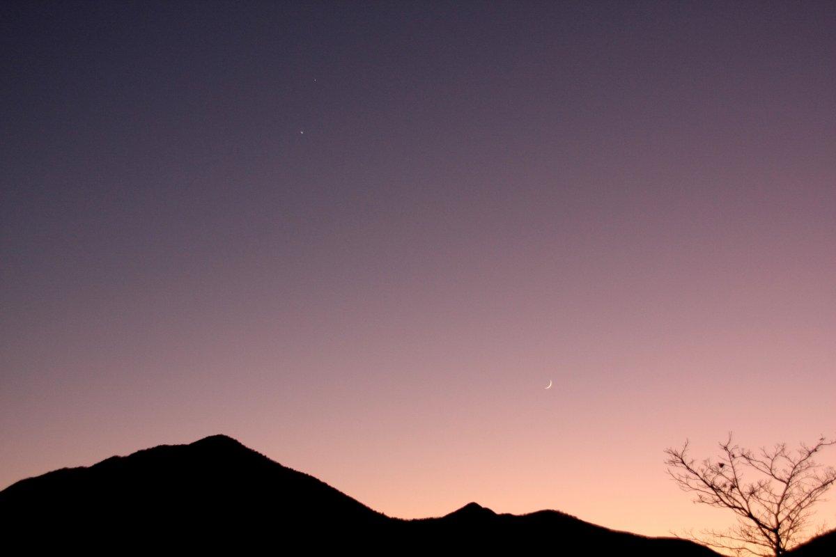 月・金星・木星