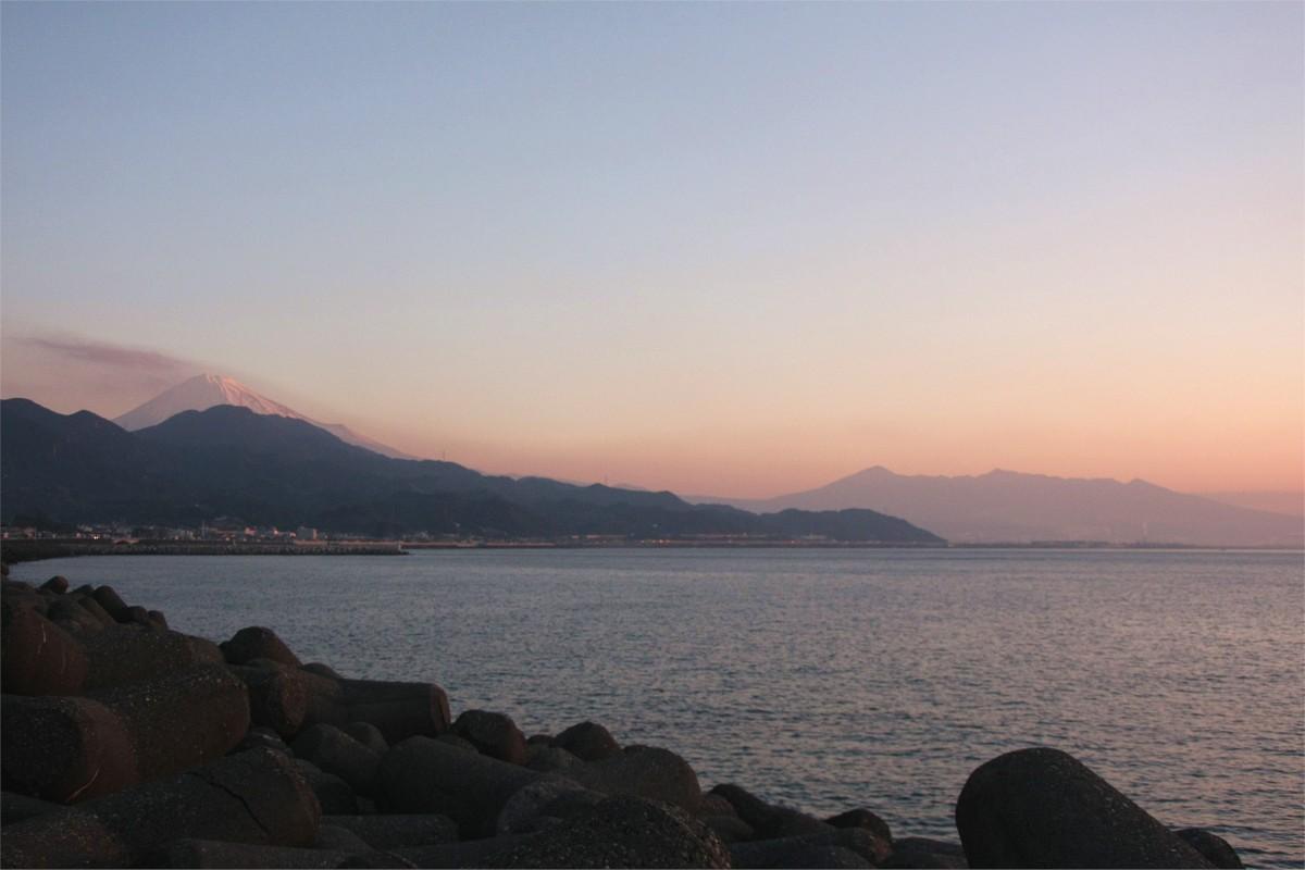 富士山と箱根山