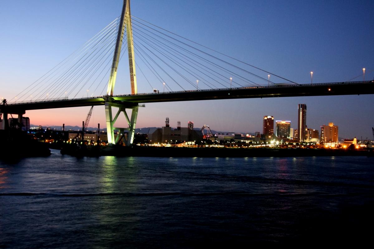 阪神高速とUSJ
