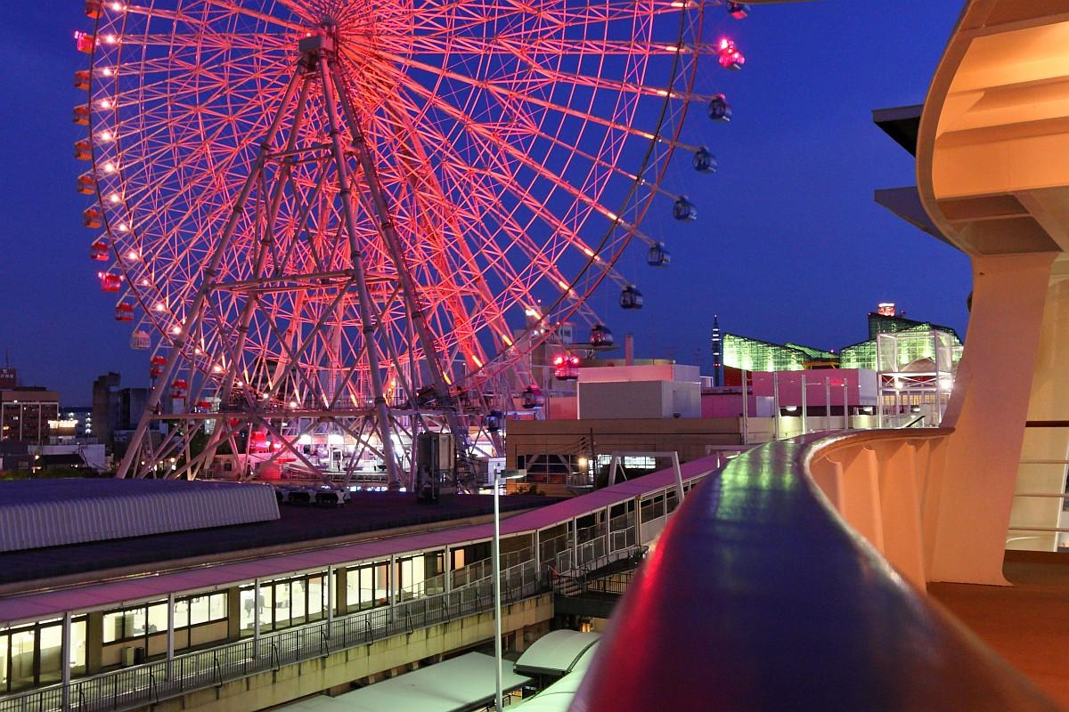 観覧車と海遊館