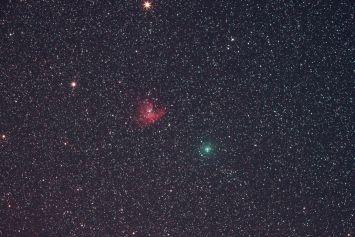 NGC281と103P