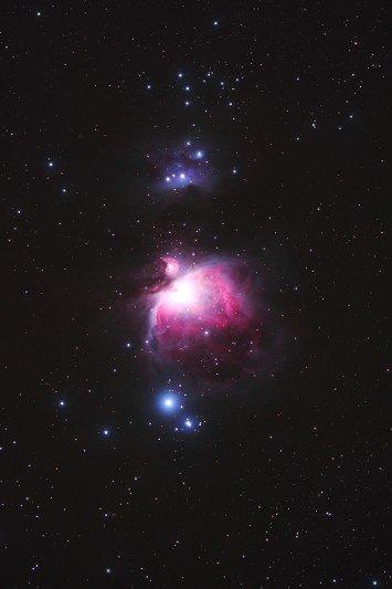 オリオンの大星雲
