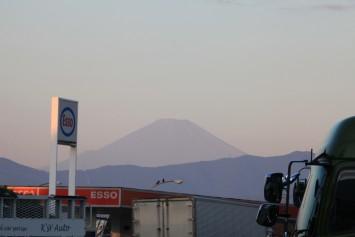 海老名からの富士山