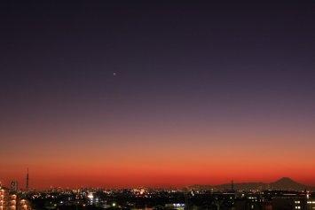 松戸からの夜景
